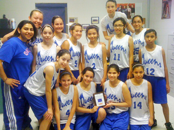 Middle School Queens Dominate At Basketball Tournament Throughout Del Rio Highschool