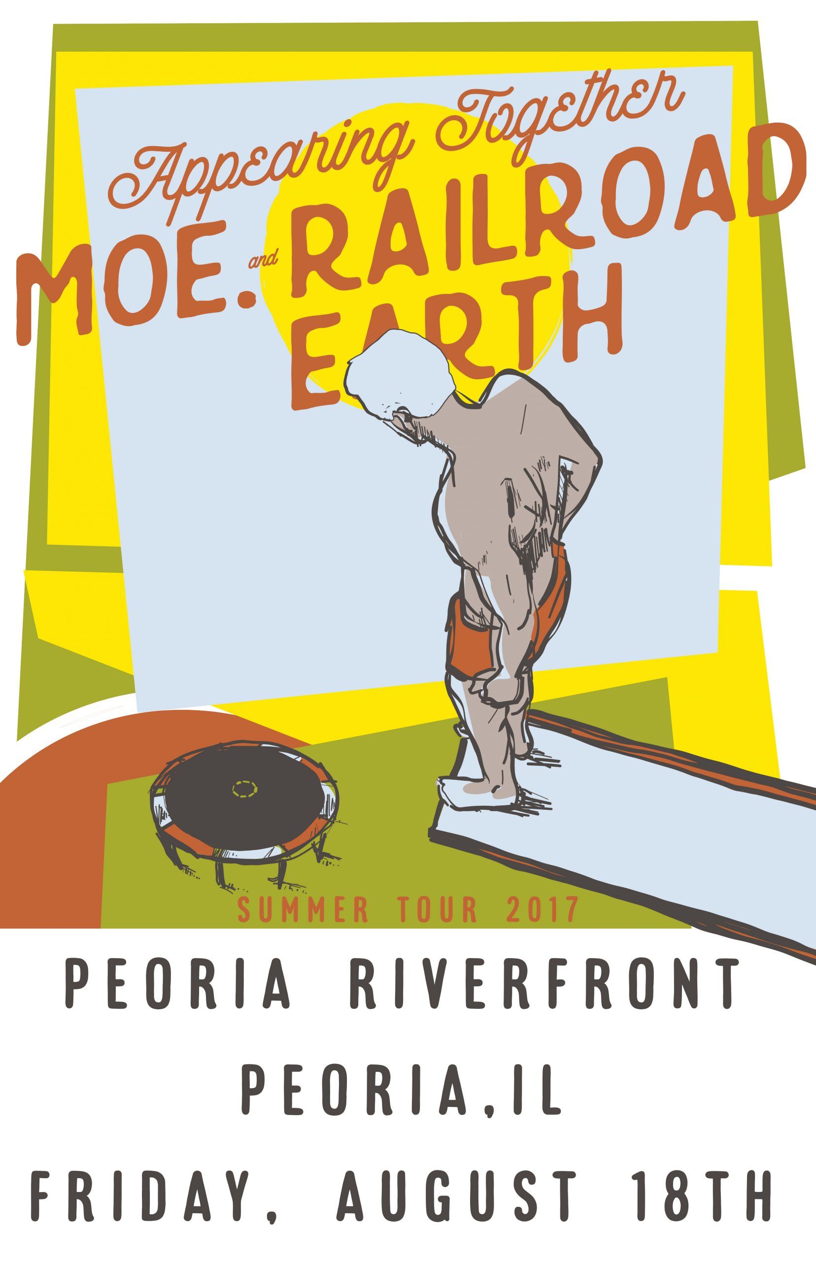 Moe. & Railroad Earth - August 18 | The Landing On The Within Peoria Il Calendar Of Events