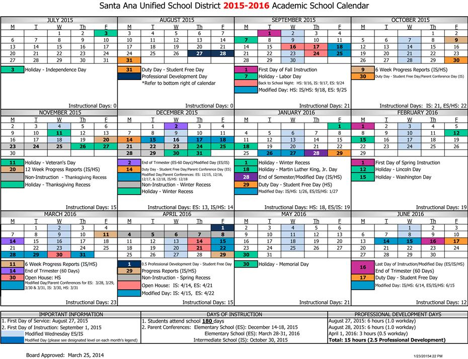 Monthly Events / Eventos Del Mes / 2015 2016 District Throughout Academic Year University Of Rhode Calendar