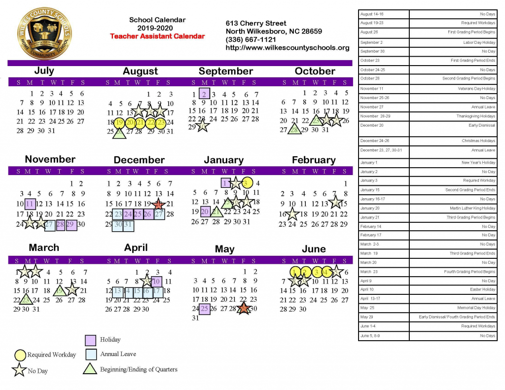 Nc District Courts Calendar – Calendar Template 2020 Pertaining To Nc District And Superior Court Calendars