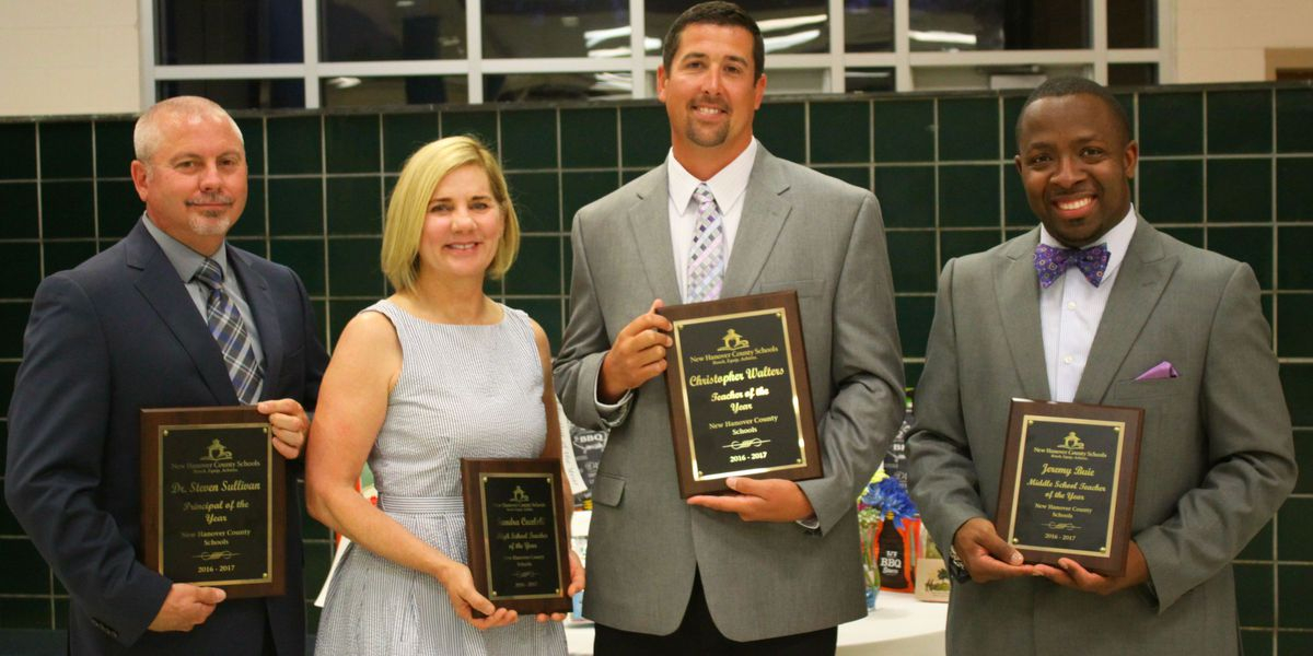 New Hanover County Schools Announce Educators Of The Year throughout New Hanover Court Calendar