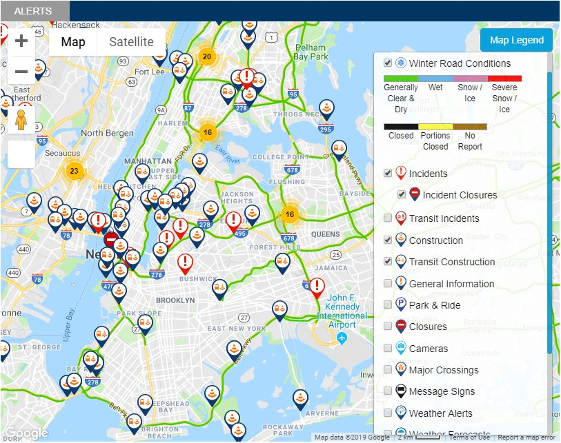Nyc Alternate Side Parking Map Dot In Alternate Parking Nyc Calendar