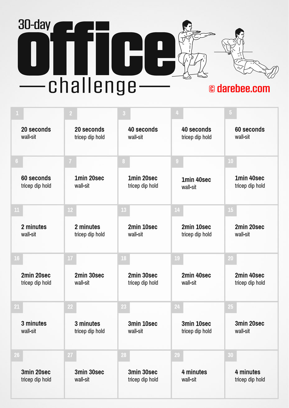 Office Challenge With Regard To 30 Day Sit Up Challenge Printable