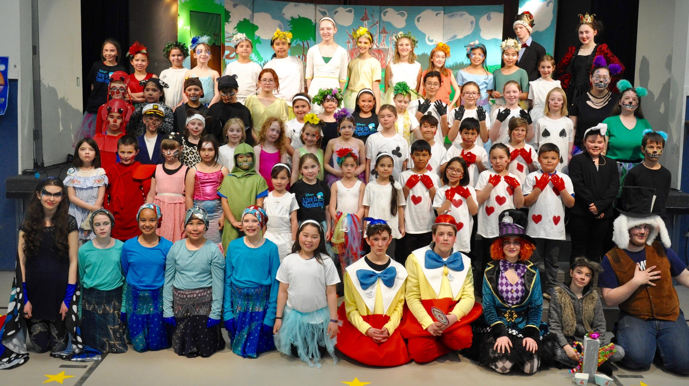 "Photos Of This Spring'S Production Of ""Alice In Wonderland Regarding Bay City Public Schools Calendar"
