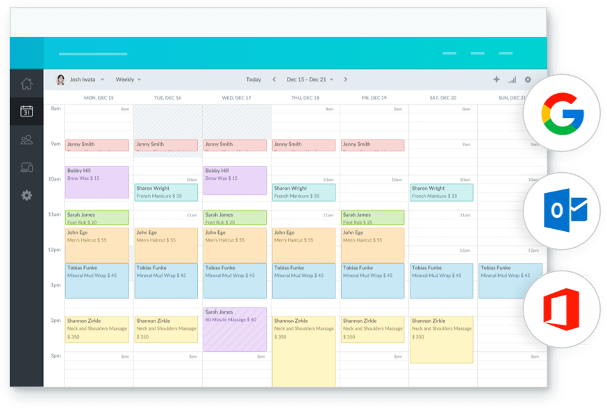 Premium: Text Reminders, Payments, And More | Setmore Pertaining To Merge A Google Calendar With An Outlook Group Calendar