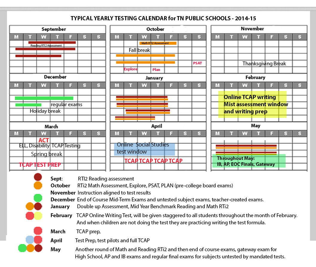 Quick Scores In Tennessee – Tennessee Education Report Intended For Doeschool Calendar 2014 2015