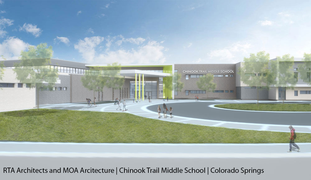 Rta Architects And Moa Architecture | Chinook Trail Middle Inside Colorado Springs D11 School Calendar2020