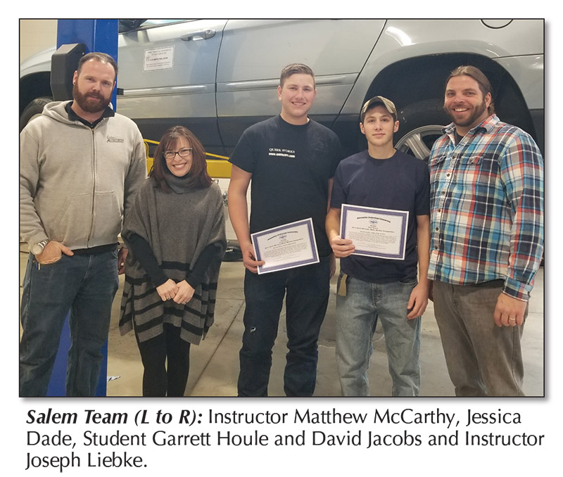 Salem Students Take Top Honors In Written Automotive Within Salem Nh Schools Calendar