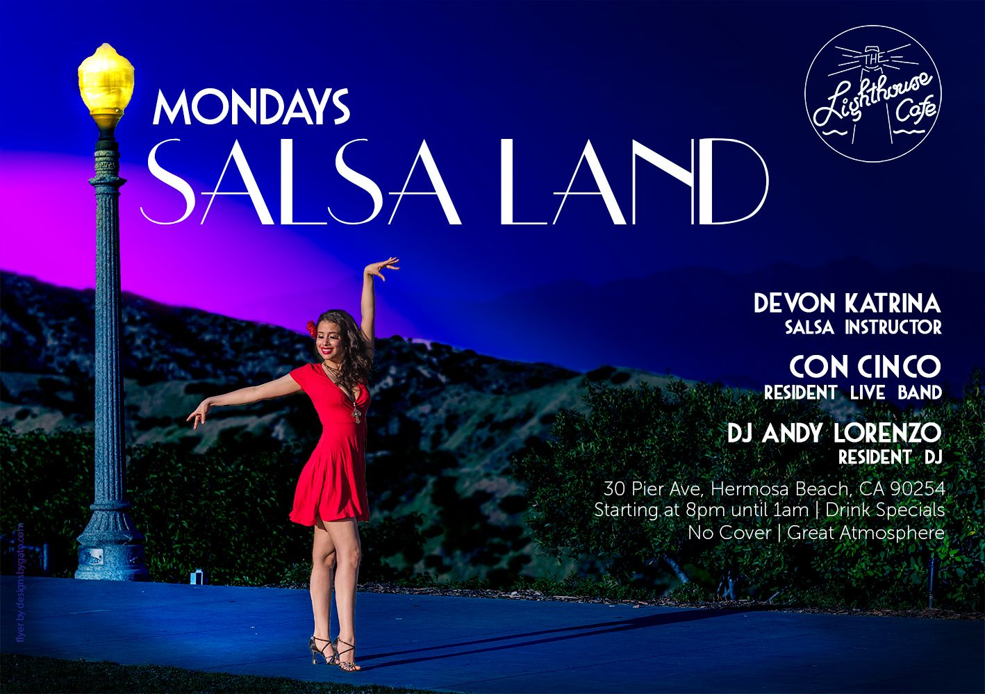 Salsa Land! At The Lighthouse Cafe | Meetup Within Salsa By The Bay Calender