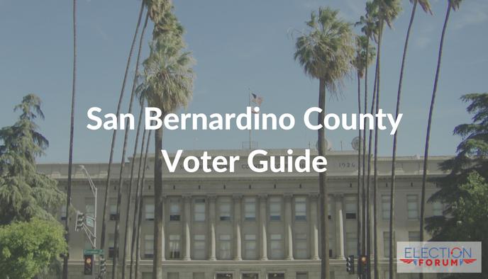 San Bernardino Voter Guide Throughout San Bernardino Superior Court Calendar