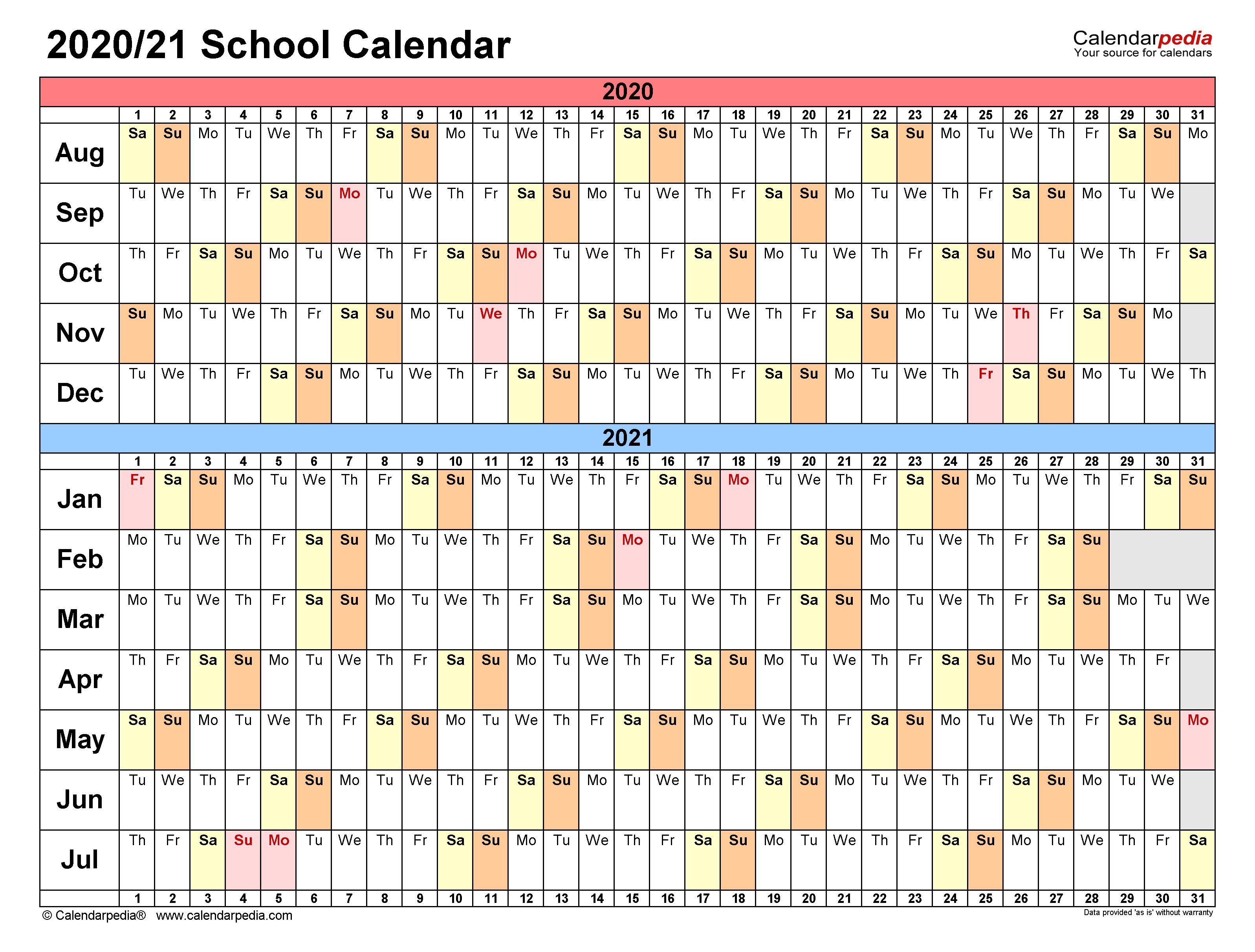 School Calendars 2020/2021 – Free Printable Excel Templates Regarding Excel 2021 Calendar Drop Down