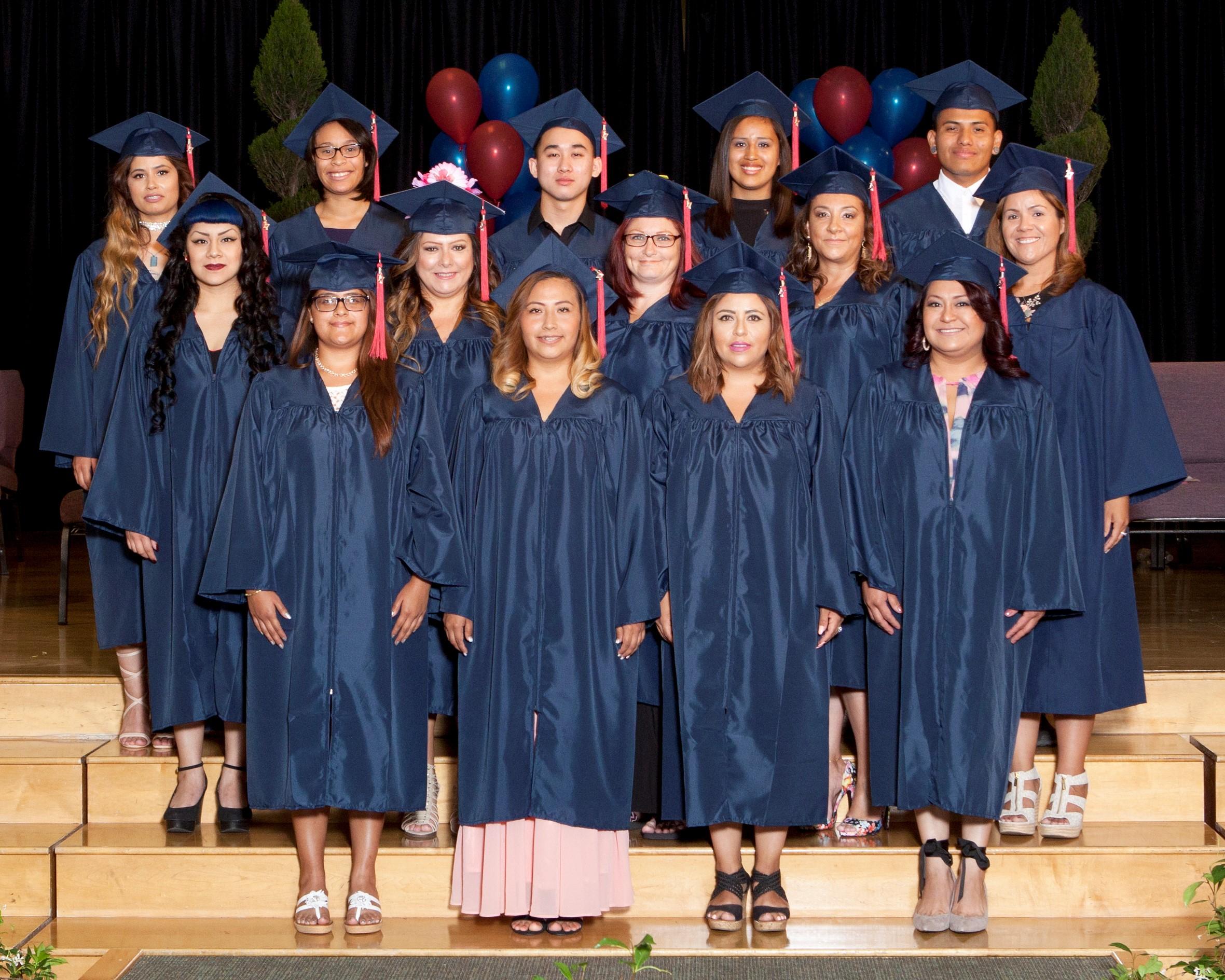 Scvnews | Golden Oak Adult School Honors 28 Graduates With Regard To La Mesa Junior High School Calendar