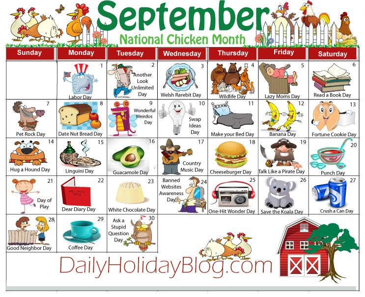 Sept Calendar 743×606 Pixels | National Holiday Inside Things To Do In Atlanta Monthly Calendar