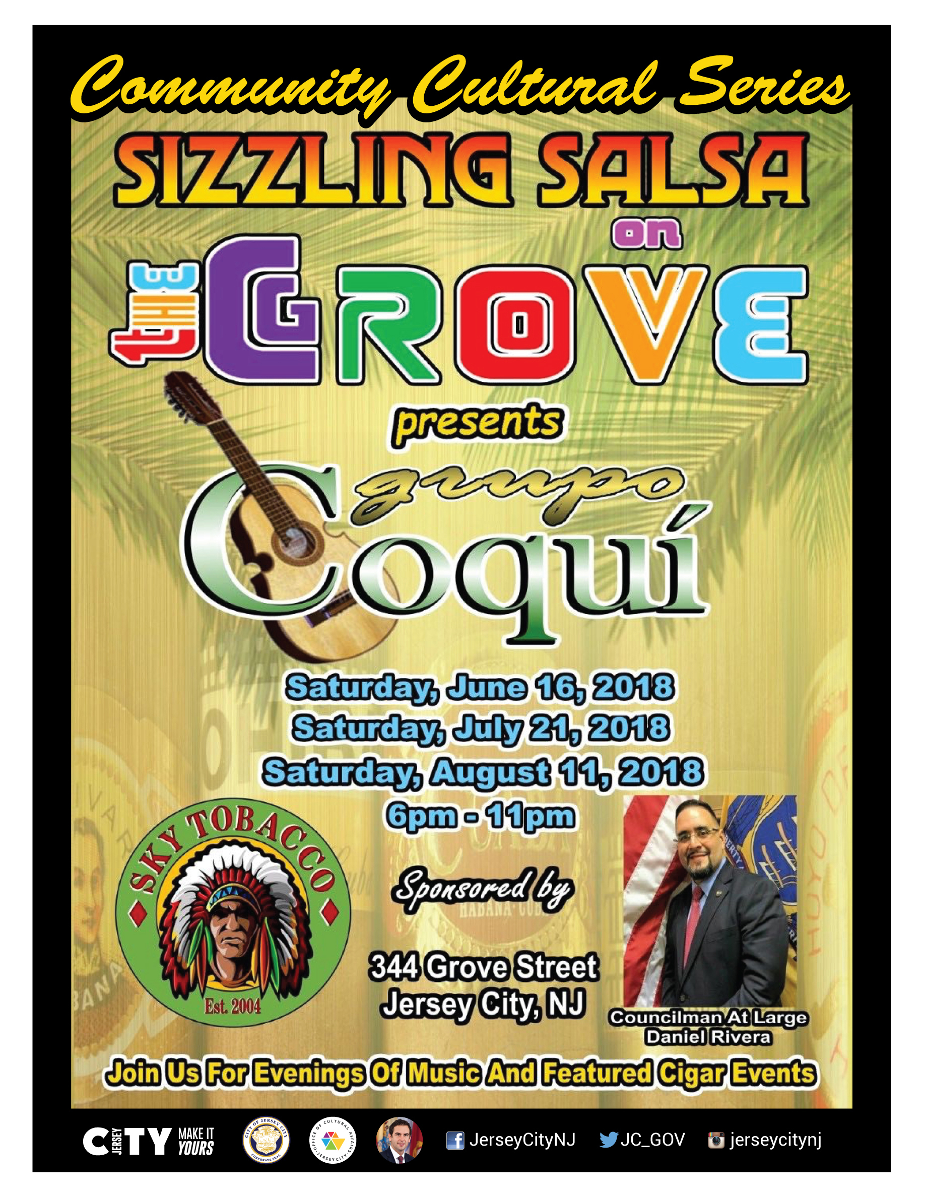 Sizzling Salsa On Grove - Jersey City Cultural Affairs With Regard To Add Seasons To Google Calendar