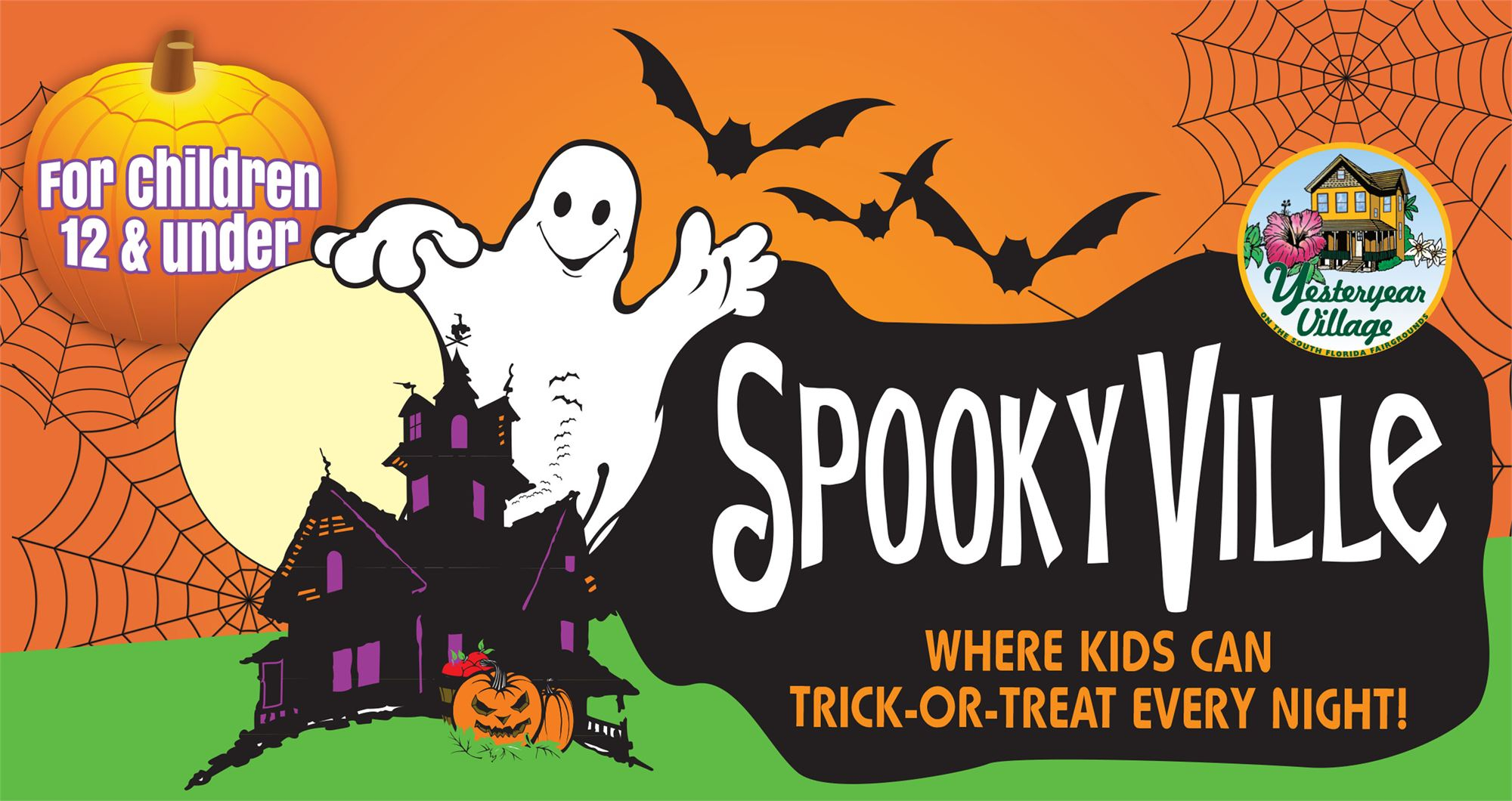 Spookyville In Yesteryear Village Inside South Florida Fairgrounds Events