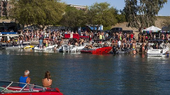 Spring Break At Lake Havasu 2014 in When Is Spring Break For University Of Pheinix