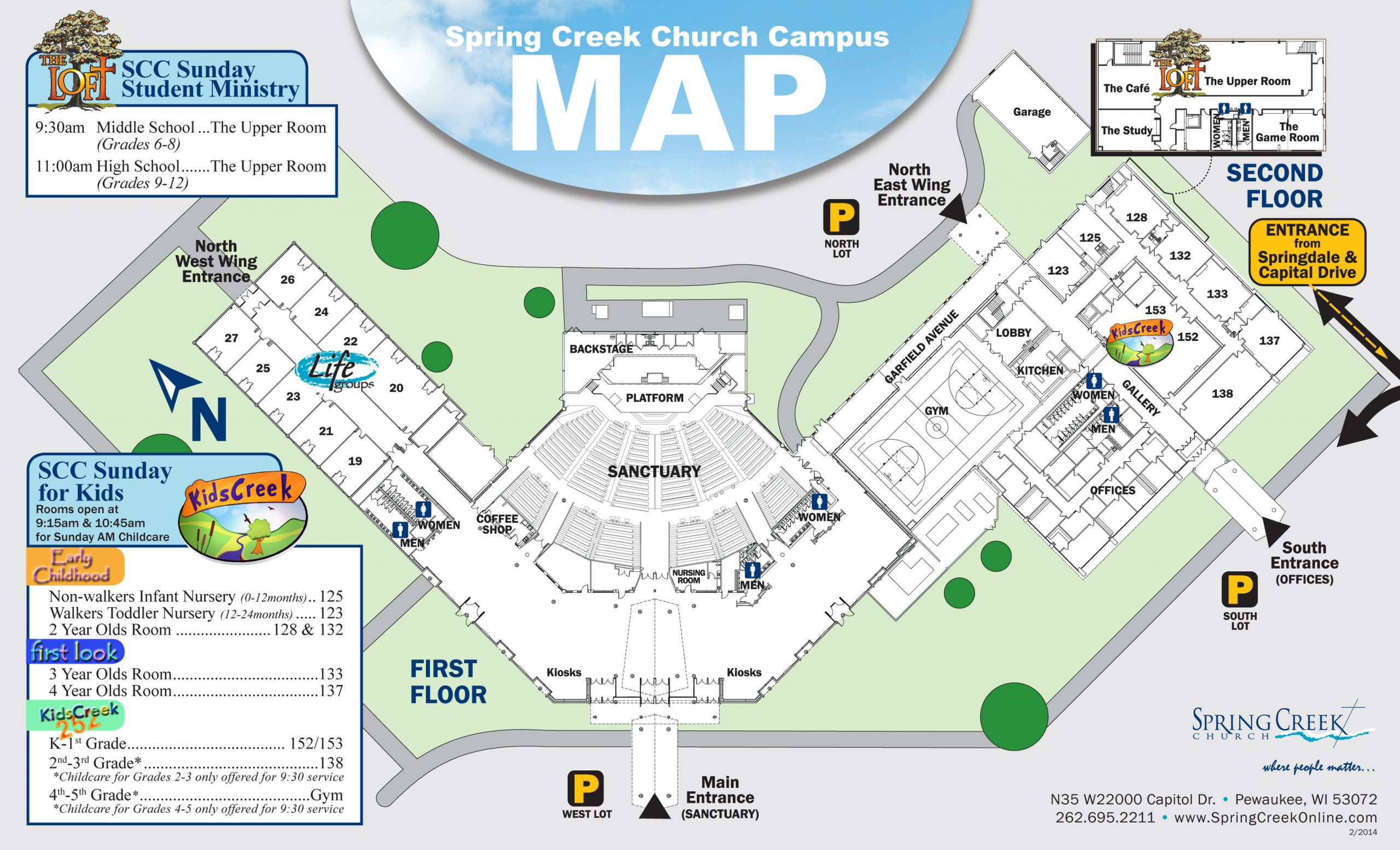 Spring Creek Church - Campus Map For Collin College School Calendar