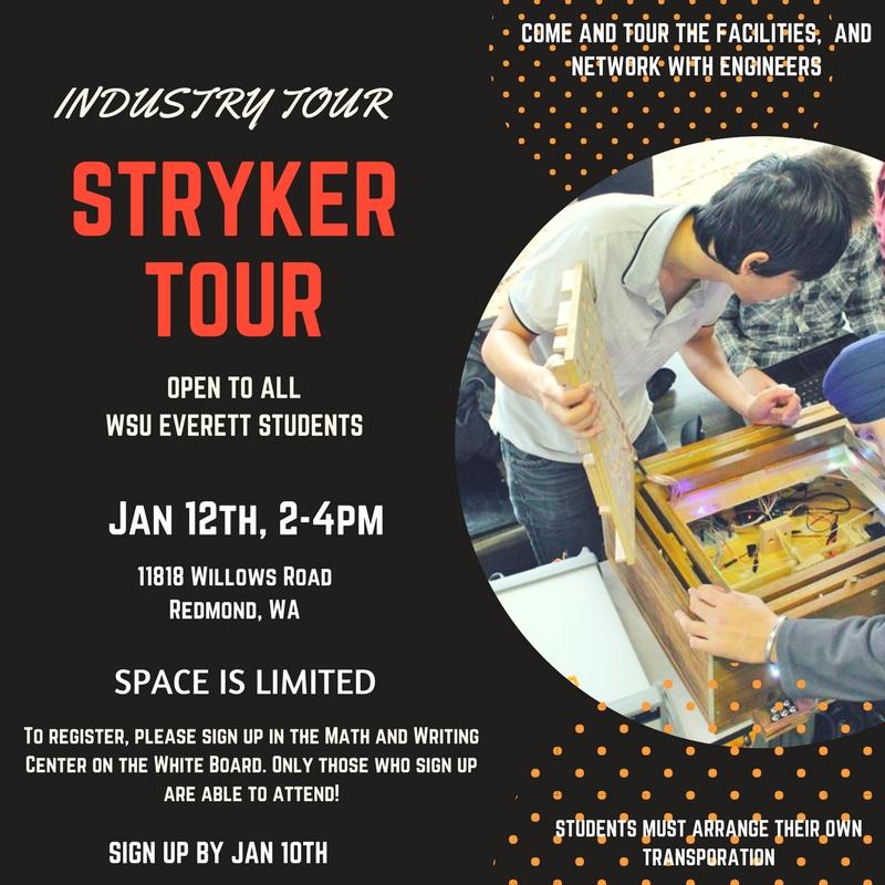 Stryker Tour | Wsu Everett | Washington State University With Regard To Everett Cc Academic Calendar