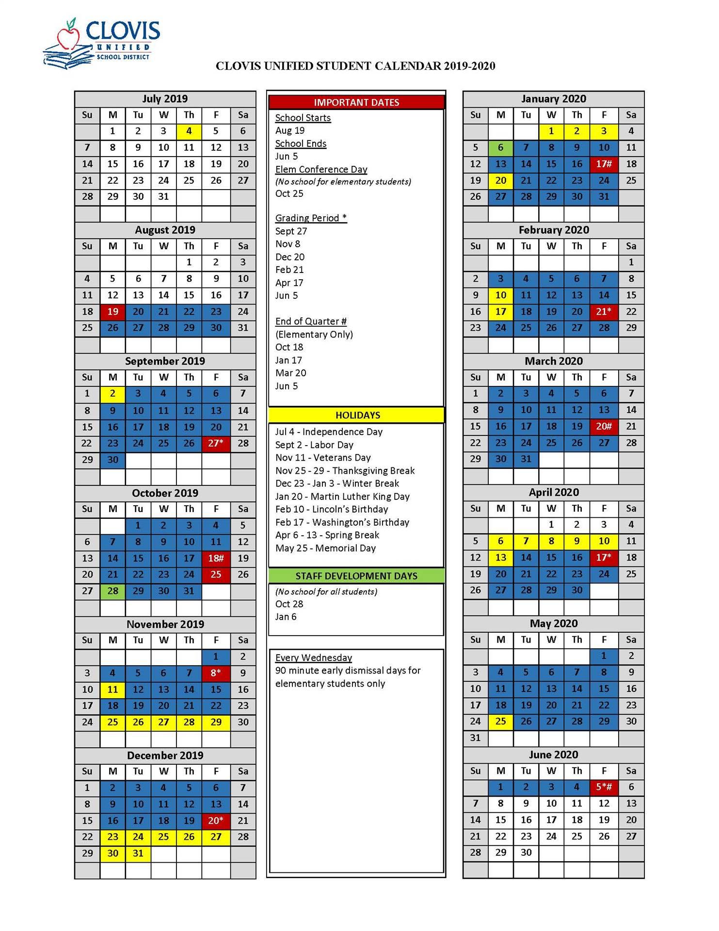 Student Calendar Pertaining To Colorado Springs District 20 2021 20 School Calendar