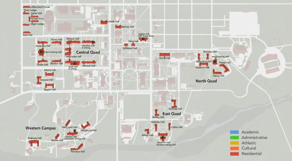 Student Housing & Dining Masterplan | Case Studies | Champlin For Miami University Of Ohio 2021 20 Academic Calendar