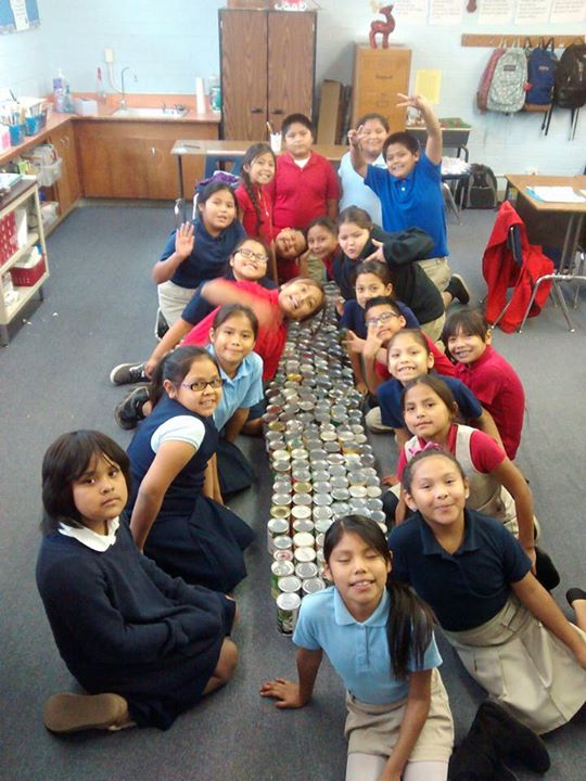 Students Collect 930 Cans In Canned Food Drive! // St Pertaining To St Charles Community College Holidays