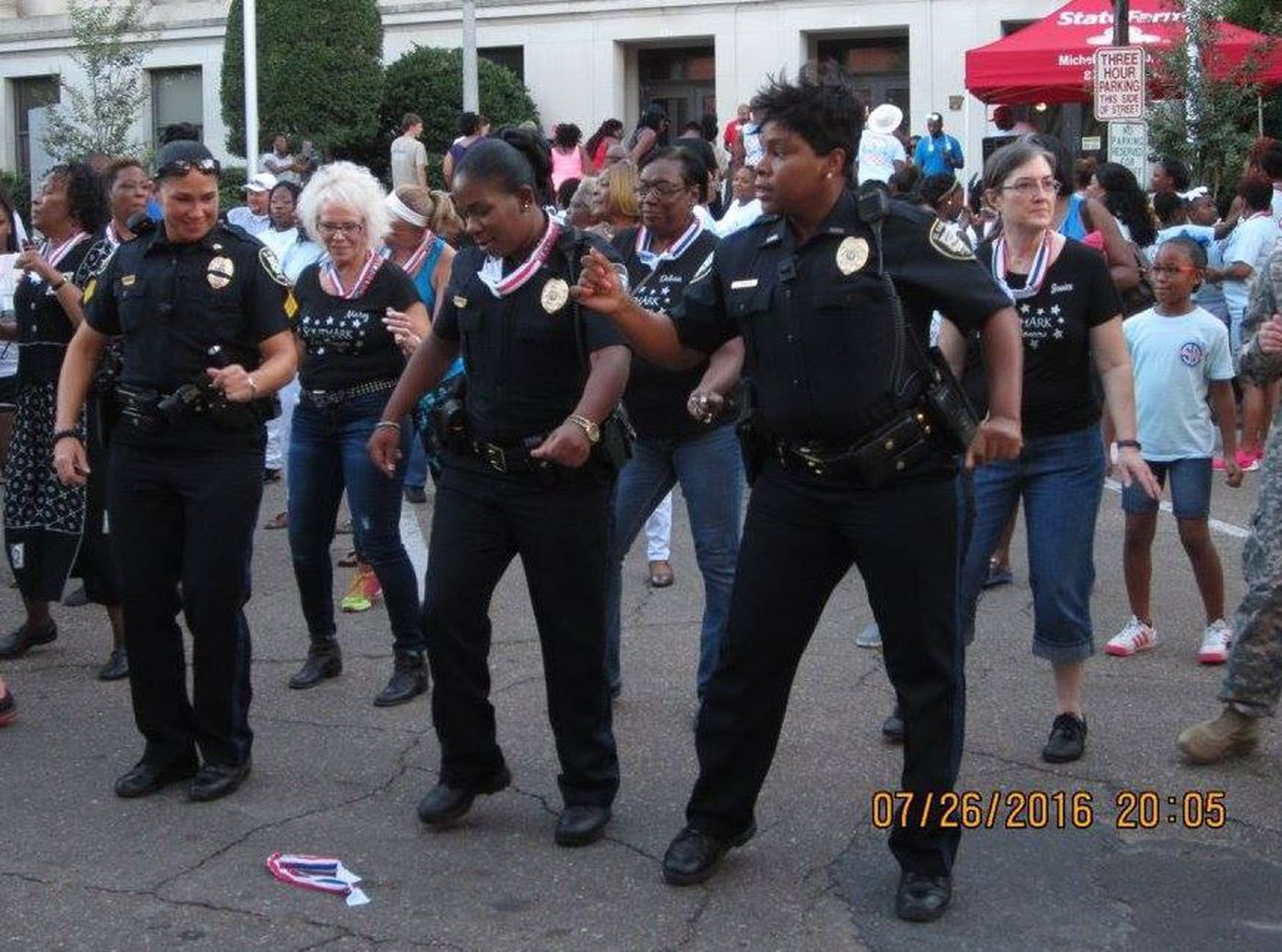 Swar Police Officers 'Step In The Name Of Love' intended for El Dorado Court Calendar
