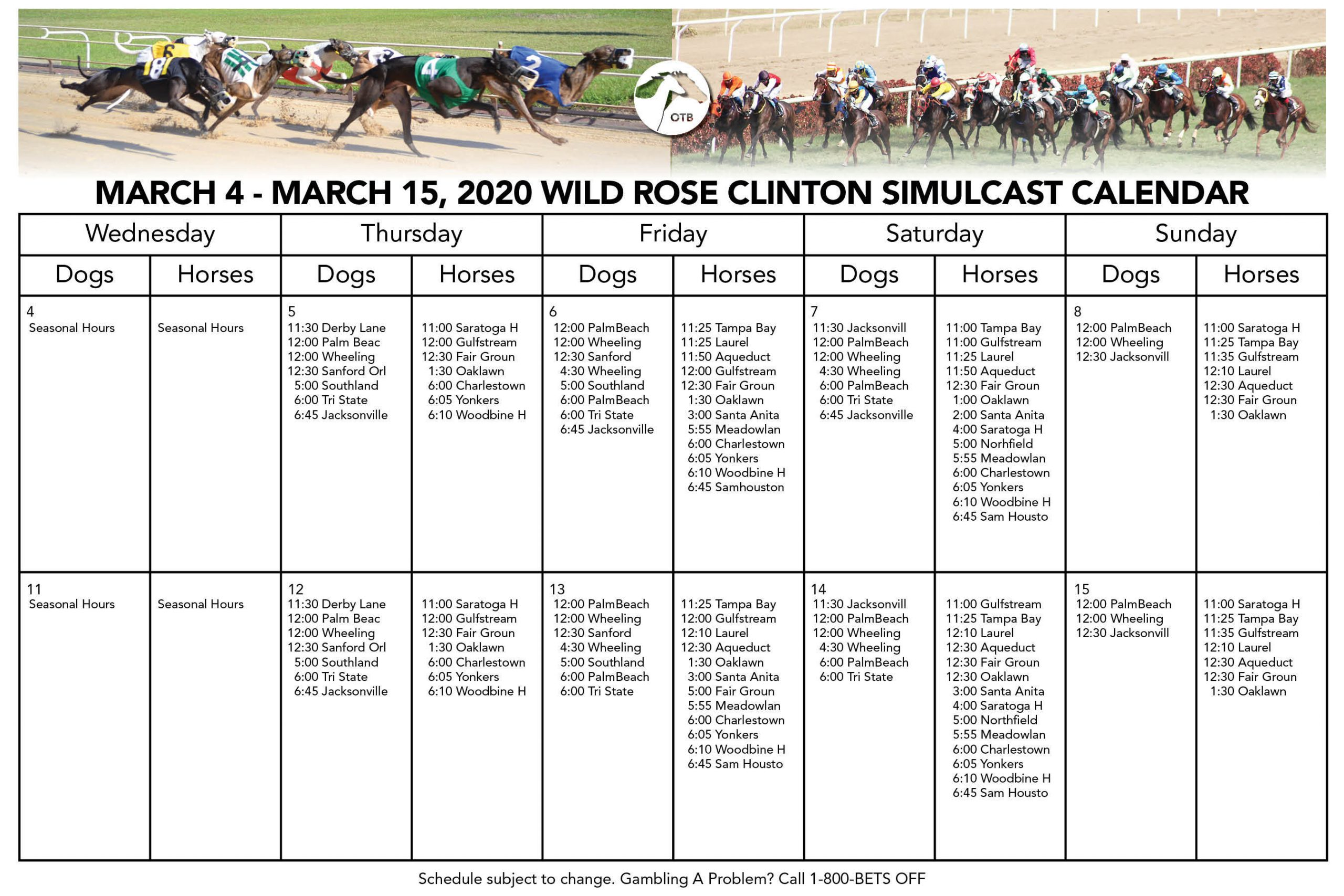 Tampa Bay Downs Race Track Calendar | Printable Calendar throughout Tampa Bay Downs Schedule