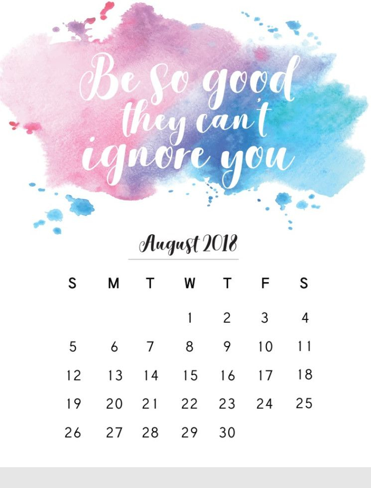 The 15+ Best 2018 Monthly Calendar With Quotes And Saying In April Calendar Quotes And Sayings