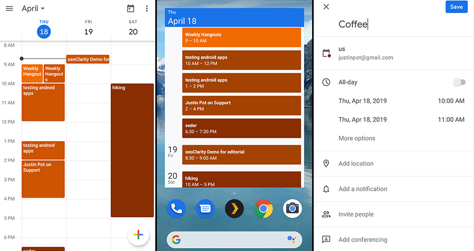 The Best Calendar Apps For Android In 2019 Intended For Does Frontier Have Monthly Fare Calendar