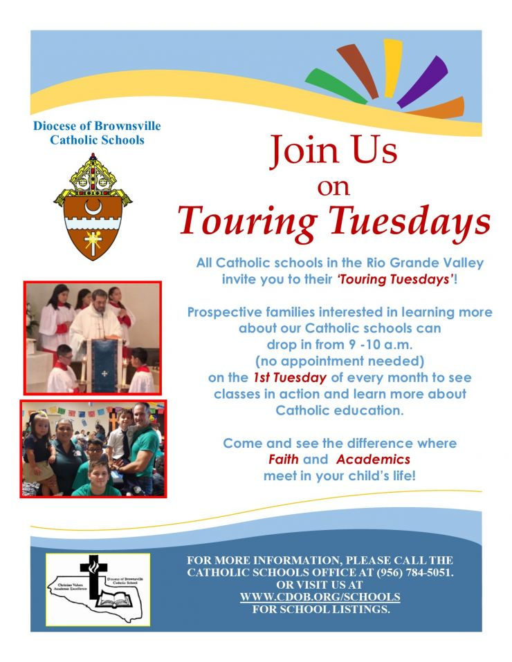 The Diocese Of Brownsville Catholic Schools Present In Brownsville Tx School Calendar