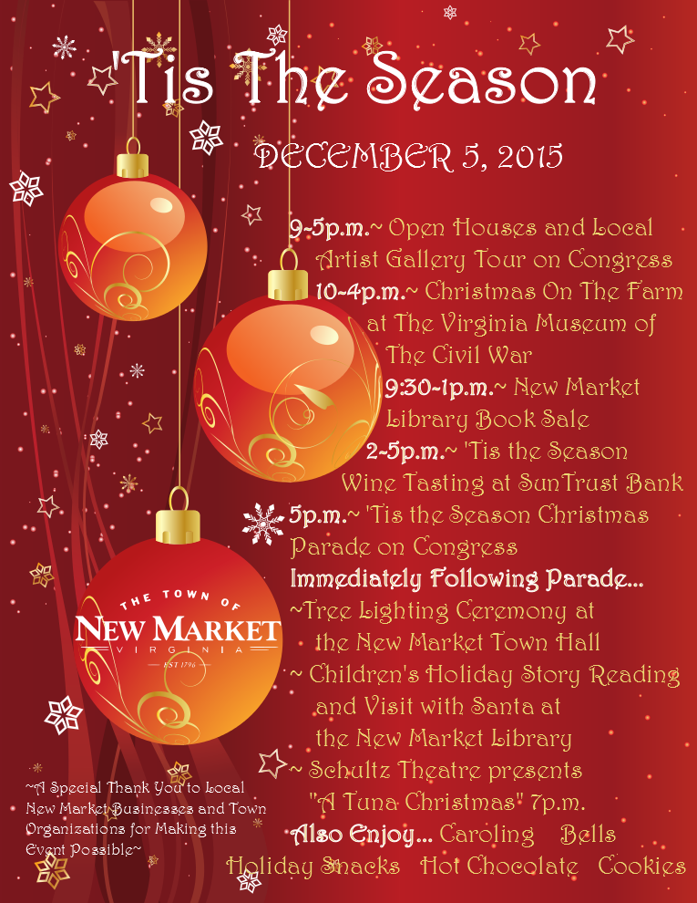 'Tis The Season Holiday Celebration & Parade | The Town Of Within Add Seasons To Google Calendar