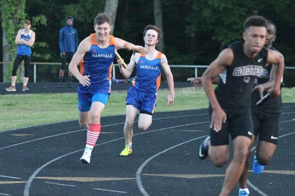 Track Team Gearing Up For Area 1 And Region 1 With Regard To Marshall County Ten School Calendar