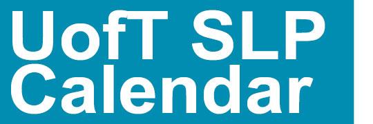 Unit 1 – Exam  Slp 1514 | Speech Language Pathology Regarding University Of Toronto Calendar