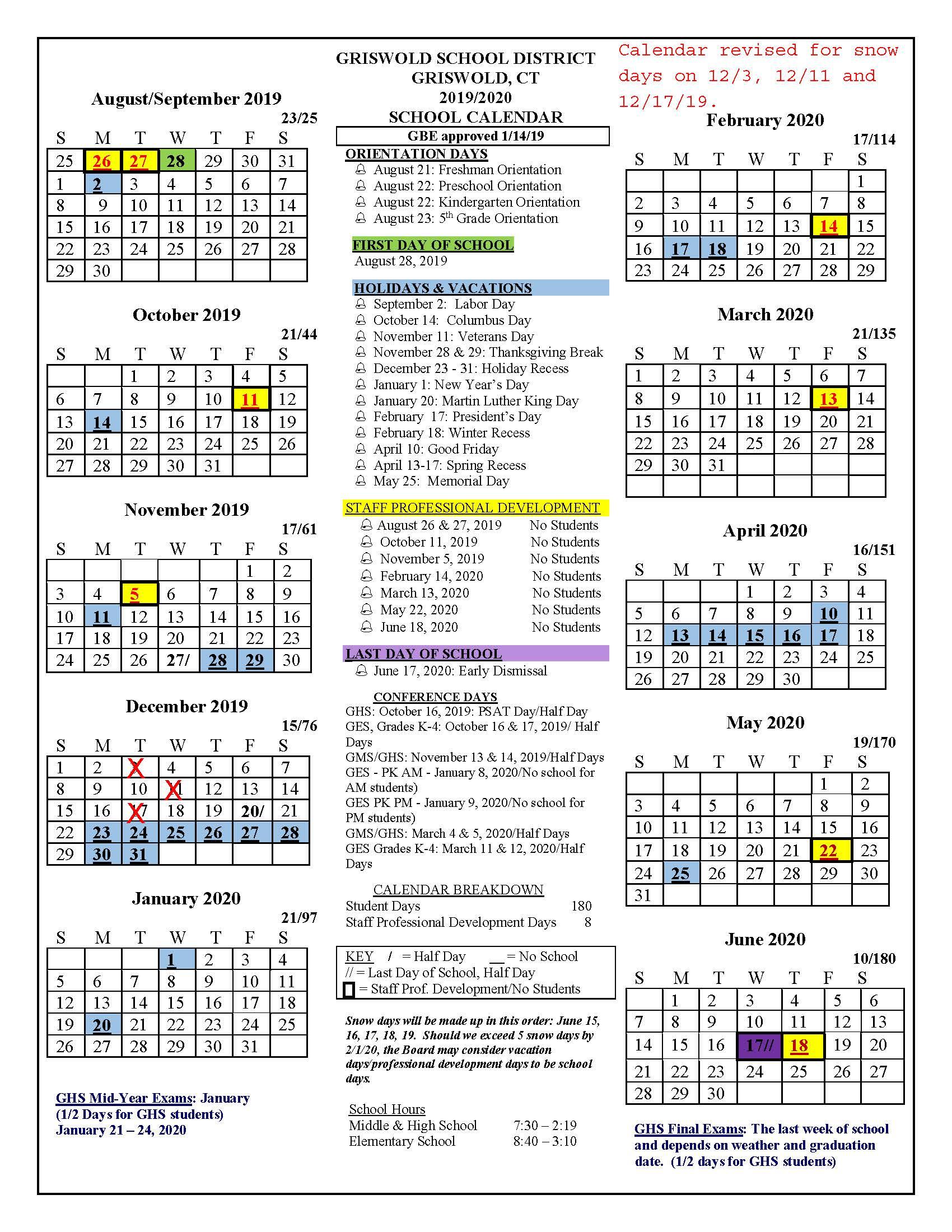 Univ Of Rhode Island School Calendar | Printable Calendar Intended For Gcu Academic Calendar Non Traditional 2020