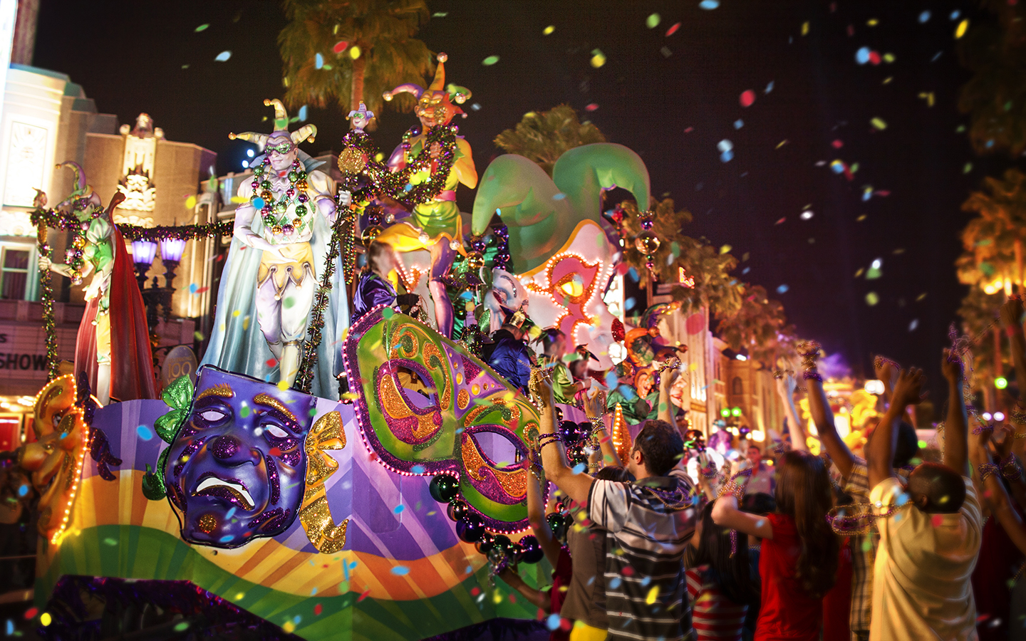 Universal Orlando Close Up | Mardi Gras At Universal For What Is The Holiday Schedule For New College Of Florida