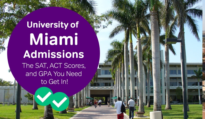 University Of Miami Admissions: The Sat, Act Scores And For Miami University Of Ohio 2021 20 Academic Calendar