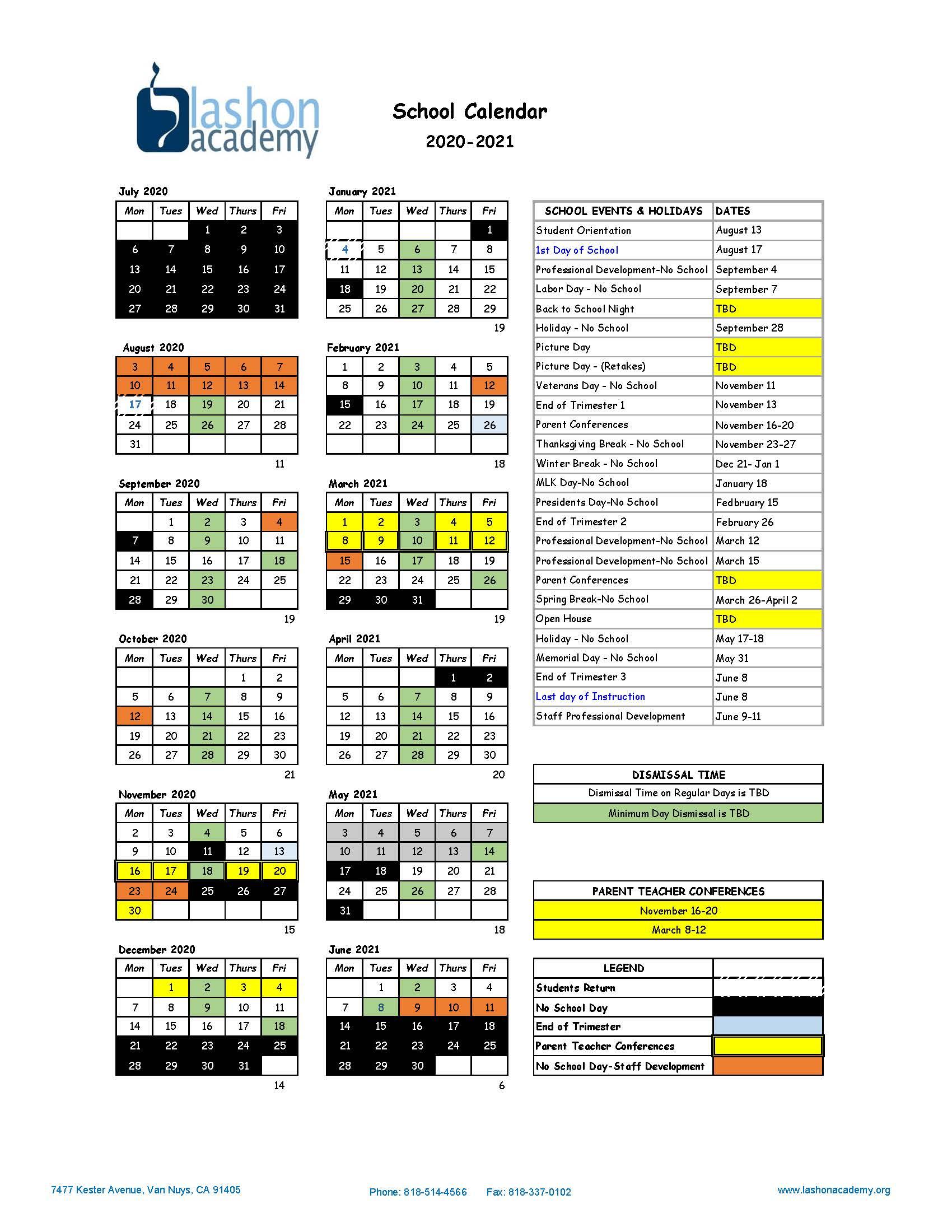 University Of Southern California School Calendar 2021 With Uri School Calendar 2021 2020