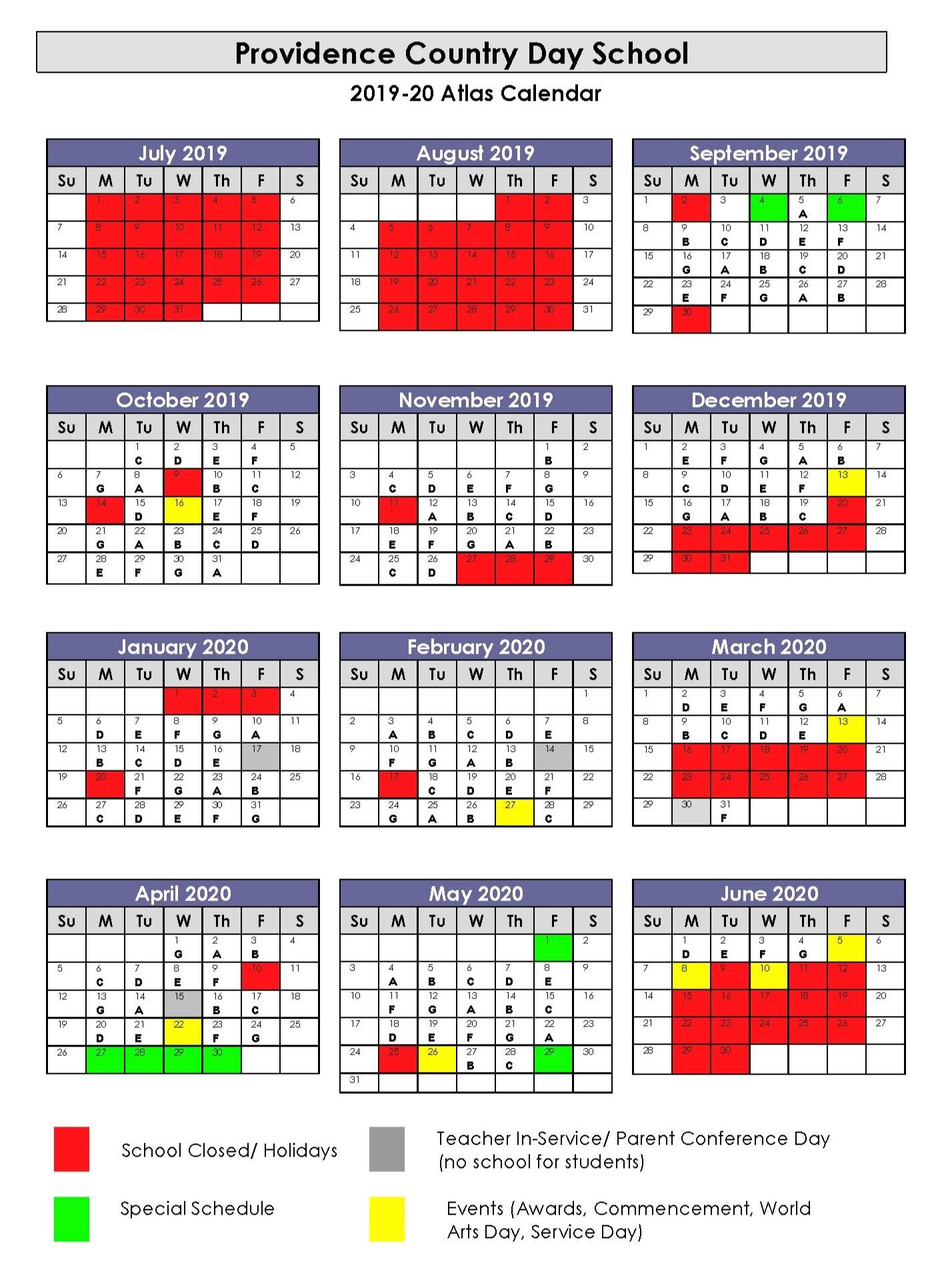 University Toledo Academic Calendar | Printable Calendar Throughout San Marcos University Ca 2020 School Calender