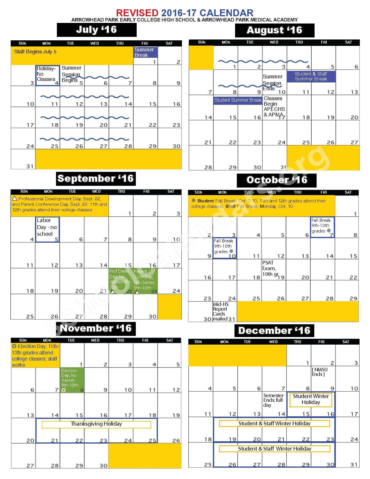 Uri Academic Calendar Holiday | Printable Calendar 2020 2021 Pertaining To Merced City School District Calendar