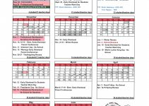 Uri Acadmic Year 2021 – 2020 Schedule   Printable Calendar regarding Nc Court Calendar Defendant Name