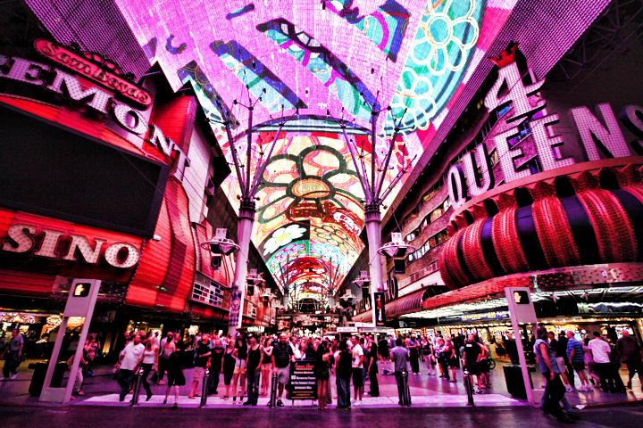 Viva Vision Light Show | Fremont Street Experience Regarding Las Vegas Live Music Calendar