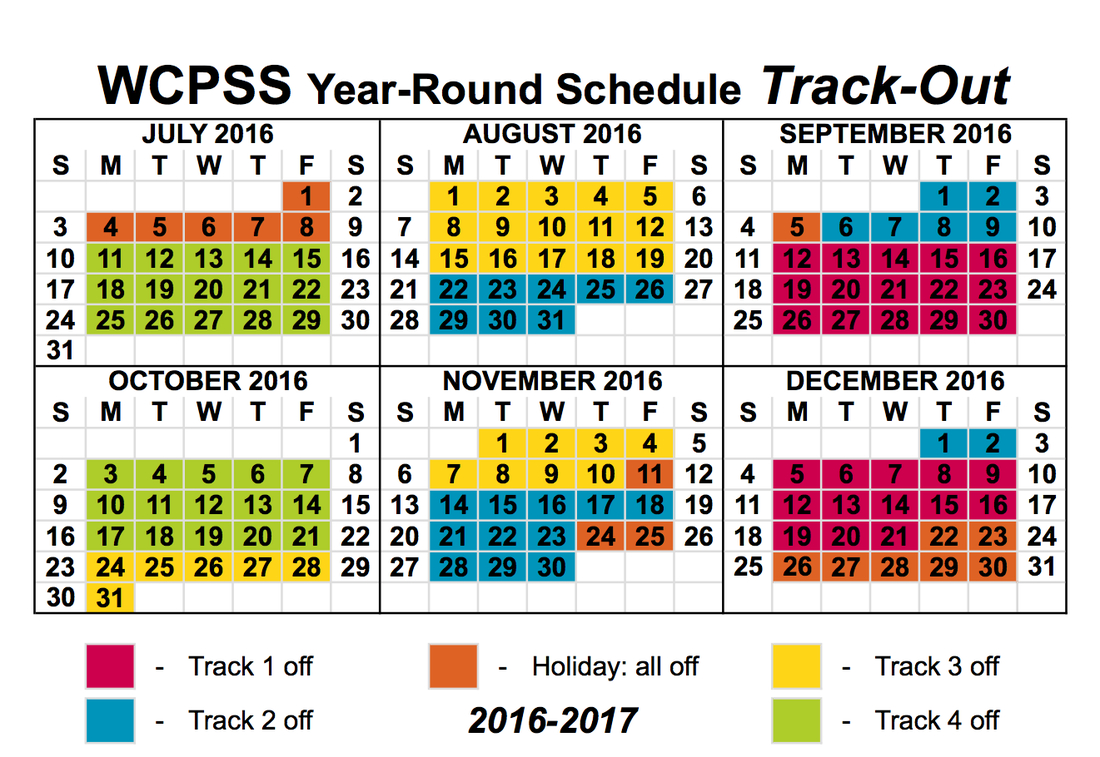 Wake County Track Out Calendar For 2016 2017 | Calendar Regarding Wake County Schools Calendar