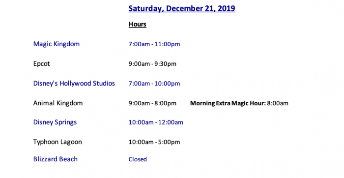Walt Disney World Crowds, Hours, And Discounts – Week Of For Calendar Of Extra Magic Hours May 2020 In Wdw