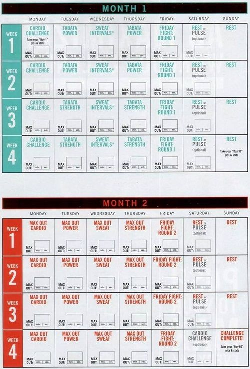 What Do You Need To Know? It'S All Right Here In The With Regard To Official Slim In 6 Pdf Workout Calendar