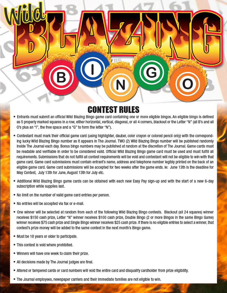 Wild Blazing Bingo | Journal News With Regard To Berkeley County School District Calendar 2021