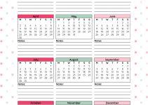 2018 Monthly Printable Calendar - Let'S Do This | Calendar with regard to Year Round School Calendar Sample