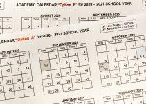 2020-2021 Student Academic Calendar Options - Richardson inside Unrsity Of South Dakota School Break Schedule