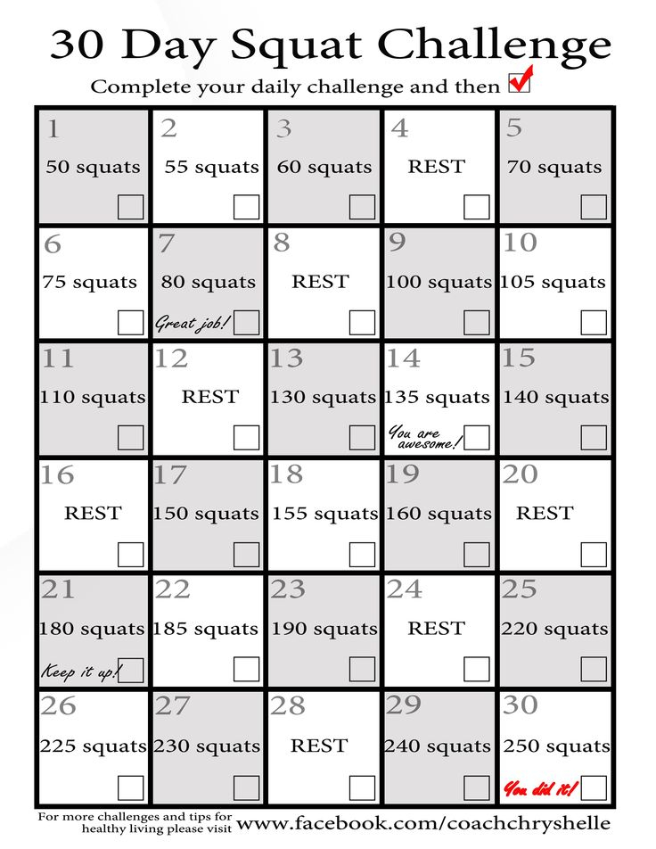 8 Best Coach Chryshelle Images On Pinterest | 30 Day Back Pertaining To Sit Up Challenge Printable