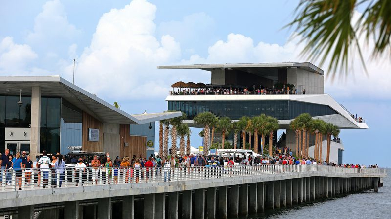 After Years, St. Pete Pier Opens To A Crowd Of Thousands Within St. Petersburg College Calendar