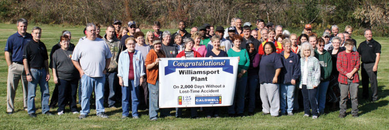 Caldwell'S Williamsport Plant Marks 2,000 Days Without Intended For North Penn School District Calendar 2021 20 Pdf